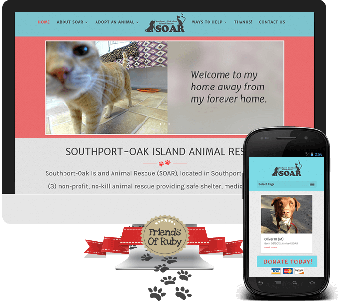 #FriendsOfRuby Winner - Southport Oak Island Animal Rescue
